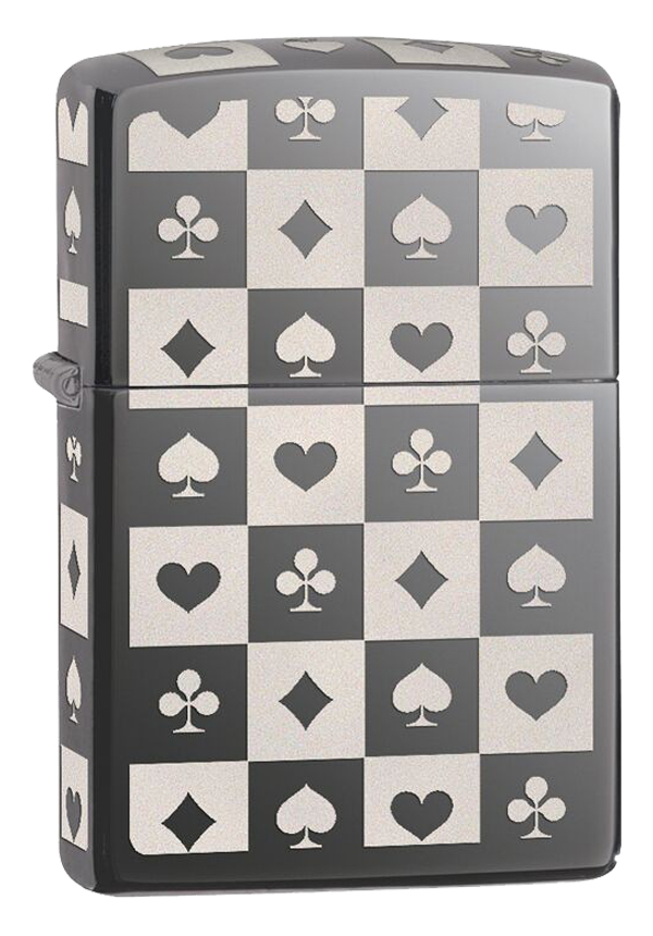 Zippo ジッポー Playing Card Suits 29082
