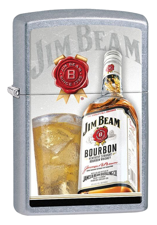 Zippo ジッポー Jim Beam Bottle and Glass 29124