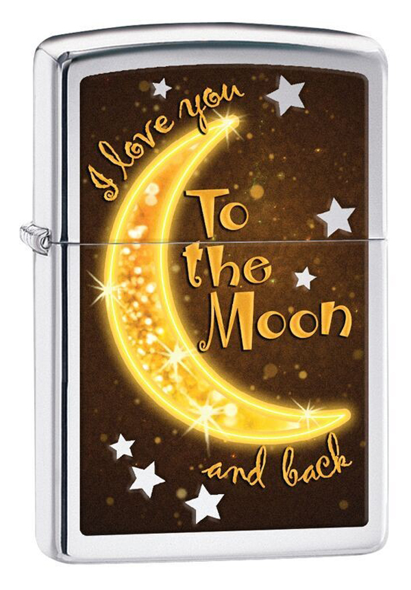 Zippo ジッポー I Love You to the Moon 29059