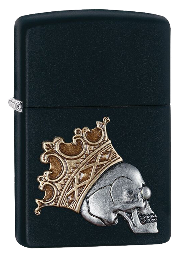 Zippo ジッポー King Skull Emblem 29100