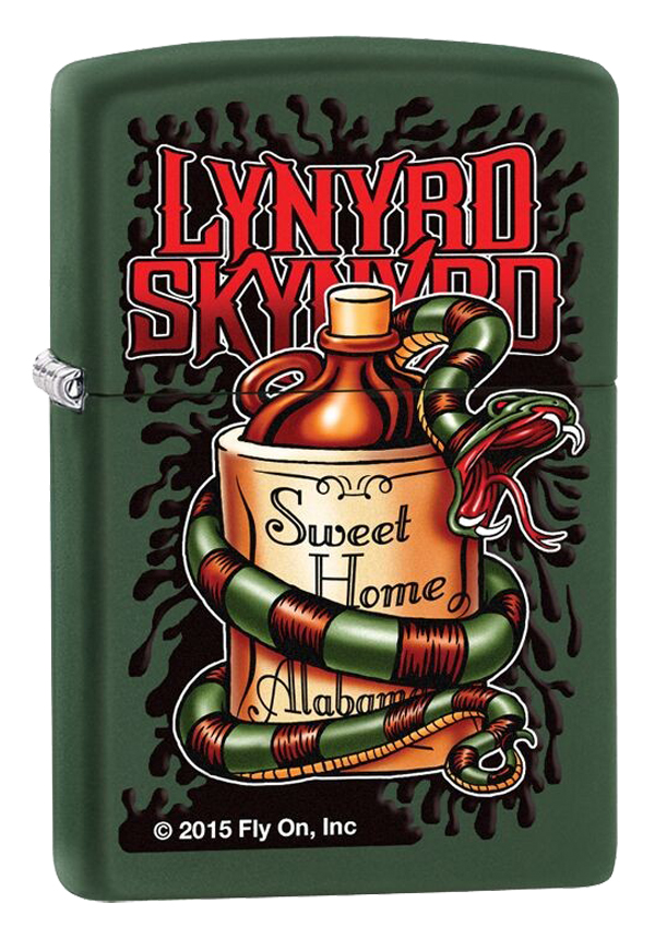 Zippo ジッポー Lynyrd Skynyrd, Sweet Home Alabama 29054 メール便可
