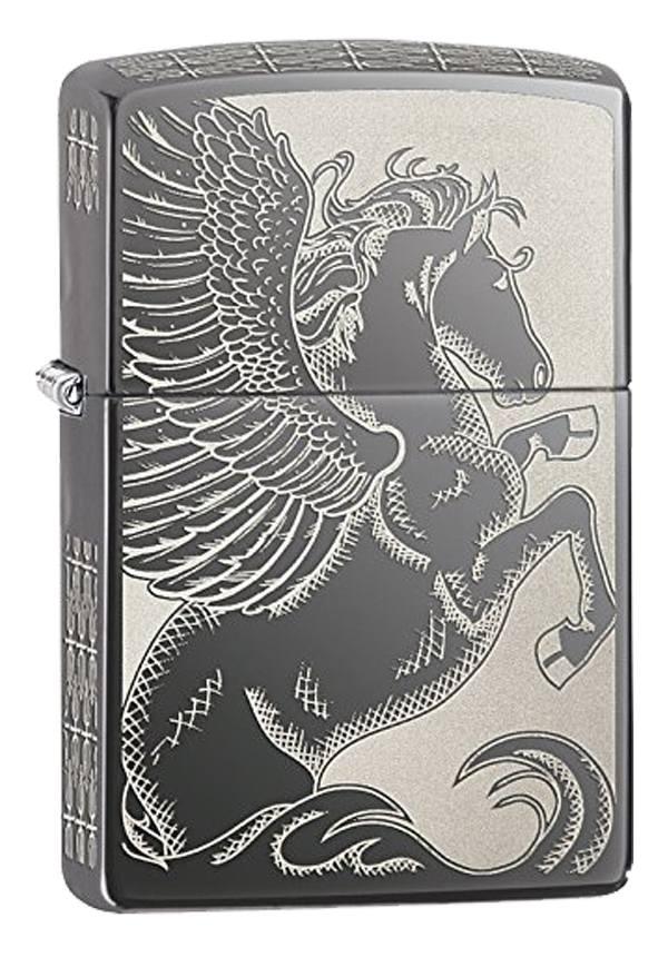 Zippo ジッポー Pegasus, Two Sided 28802