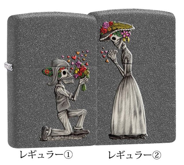 Zippo ジッポー Day of the Dead Skulls Set 28987
