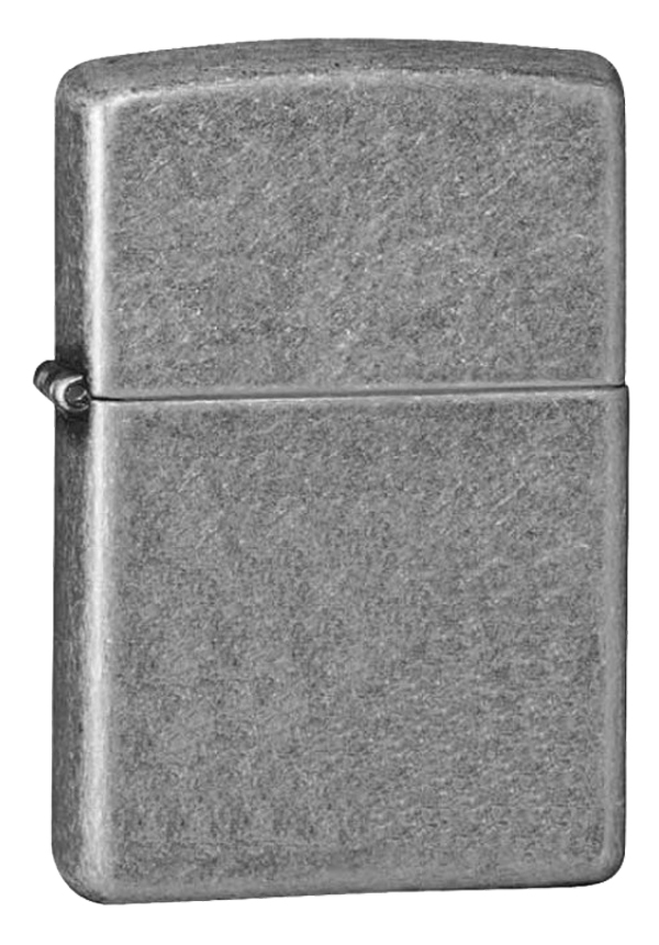 Zippo ジッポー Armor Antique Silver Plate 28973 メール便可