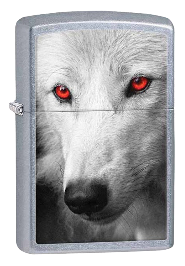 Zippo ジッポー Wolf with Red eyes 28877