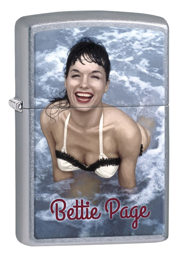 Zippo ジッポー Bettie Page in the Water ベティ・ペイジ 29440 メール便可