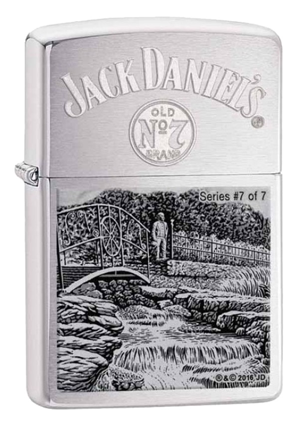 Zippo ジッポー 限定4,777個生産 Jack Daniel's Lynchburg series No.7 The Cave Spring at Jack Daniel's Hollow 29179
