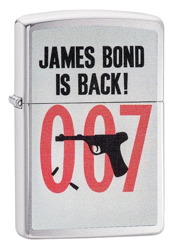 Zippo ジッポー James Bond 007 ジェームス・ボンド 29563 メール便可