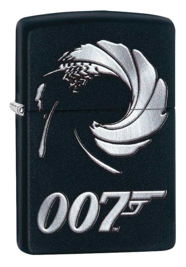 Zippo ジッポー James Bond 007 ジェームス・ボンド 29566 メール便可