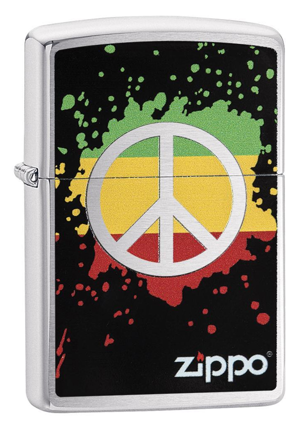 Zippo ジッポー Peace Splash 29606