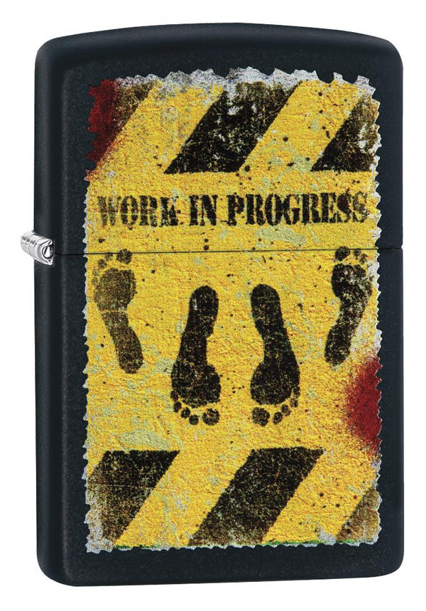 Zippo ジッポー Work in Progress 29624