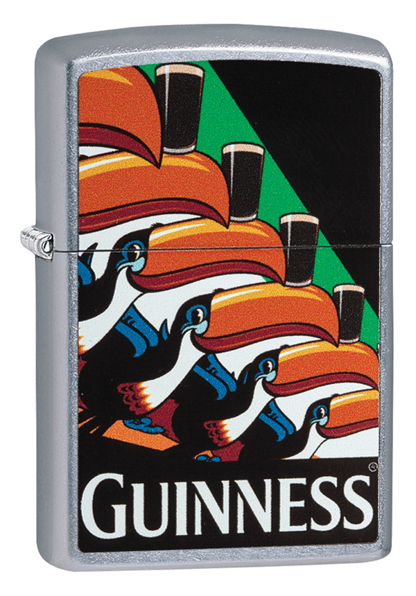 Zippo ジッポー Guiness Beer Toucan Poster 29647 メール便可