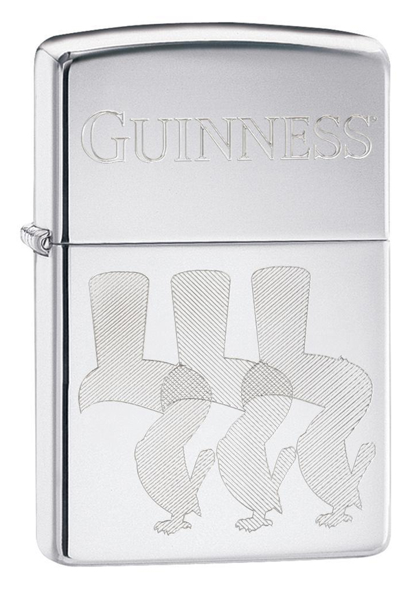 Zippo ジッポー Guiness Beer, Engraved Toucan Birds 29648 メール便可