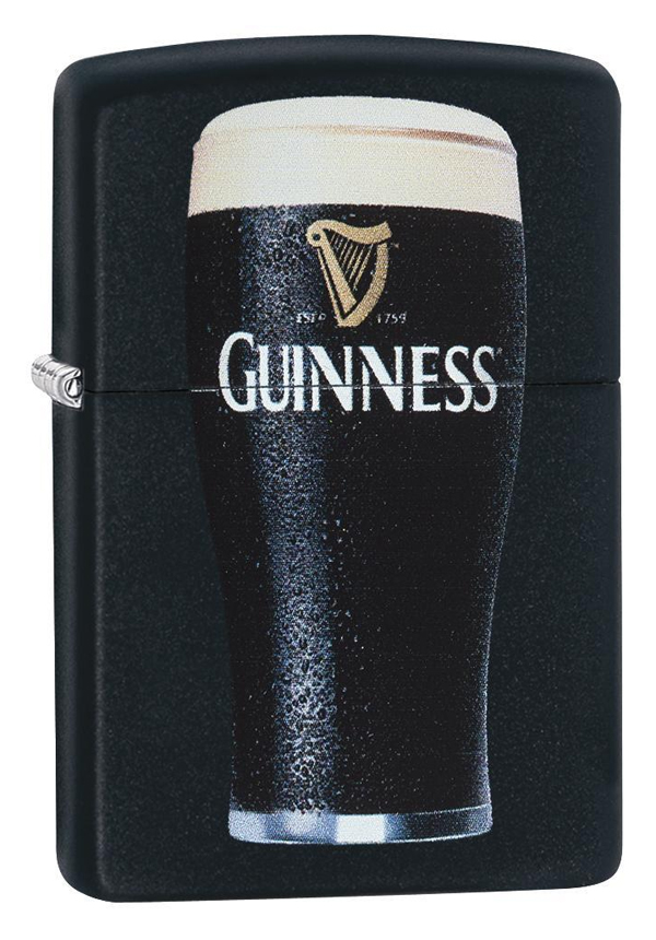 Zippo ジッポー Guiness Beer Pint Glass 29649 メール便可