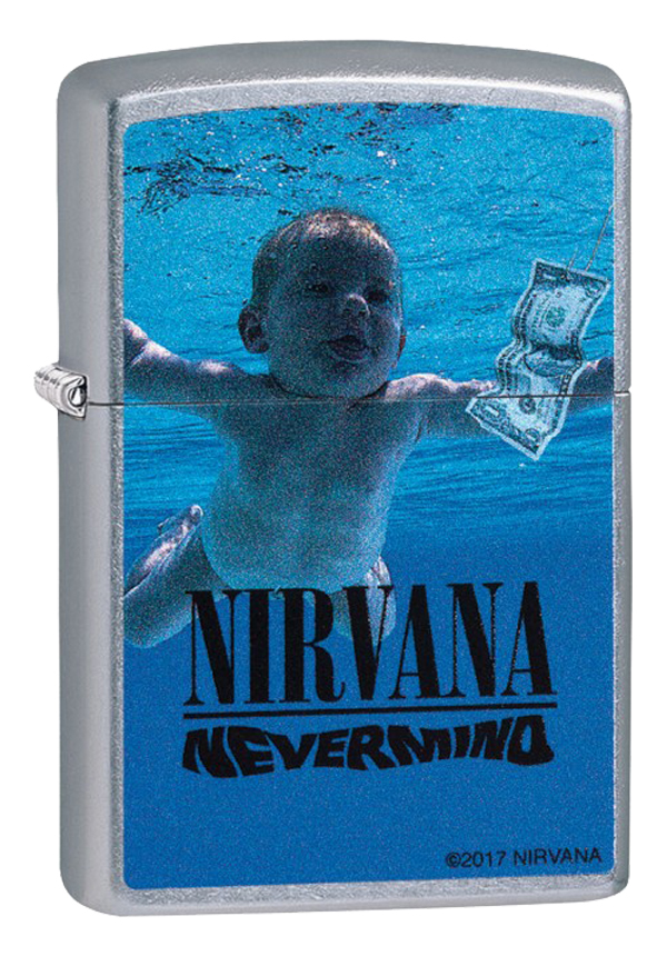 Zippo ジッポー Nirvana, Nevermind Cover 29713 メール便可