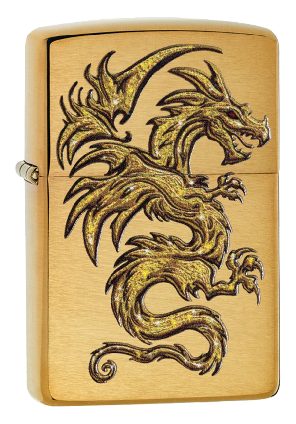 Zippo ジッポー Gold Dragon 29725