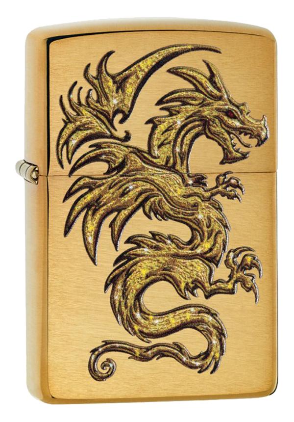 Zippo ジッポー Gold Dragon 29725 メール便可