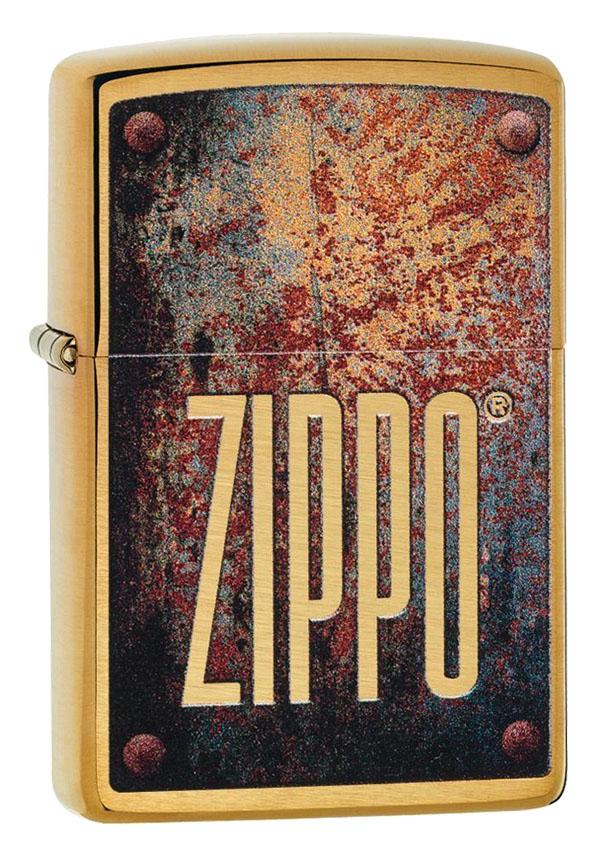 Zippo ジッポー Rusted Plate 29879 メール便可
