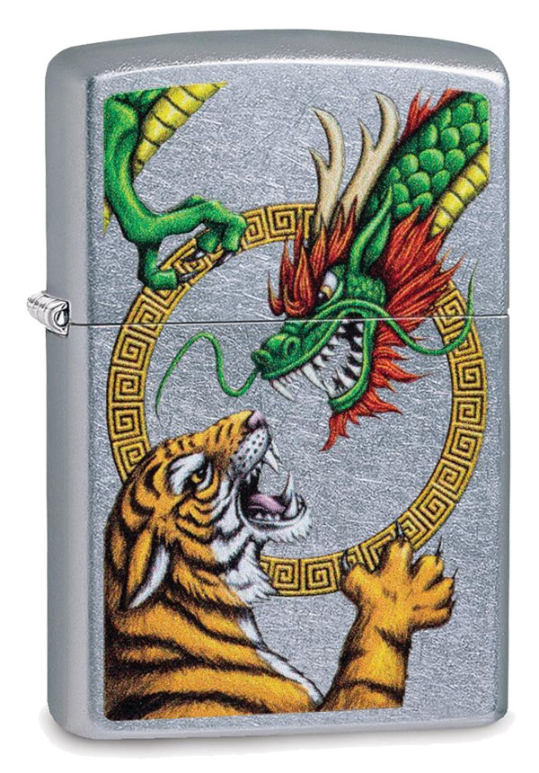 Zippo ジッポー Asian Dragon and Tiger 29837