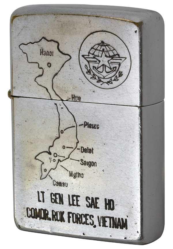 Zippo ジッポー 【中古】ベトナムZIPPO 1970年製造 ハングル文字