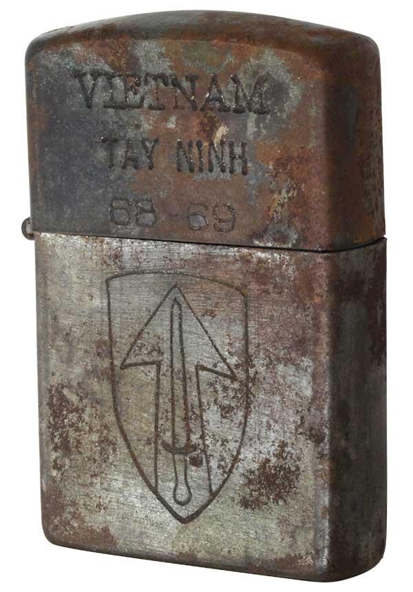 Zippo ジッポー 【中古】ベトナムZIPPO 1968年製造 TAY NINH 68-69