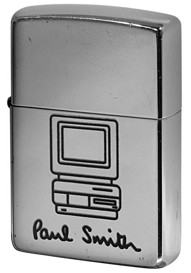Zippo ジッポー 中古・Paul Smith ポール・スミス 箱なし 保証書なし 傷あり 1997年製造  パソコン メール便可