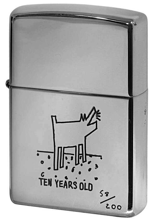 Zippo ジッポー 中古・Paul Smith ポール・スミス 箱なし 保証書なし 傷あり 1998年製造  Dog メール便可
