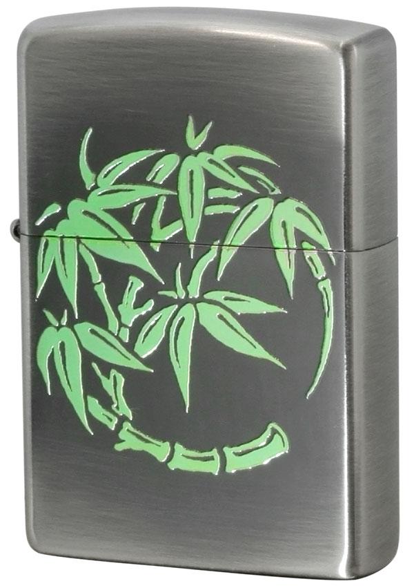 Zippo ジッポー 丸紋 Circle crest 竹 Bamboo