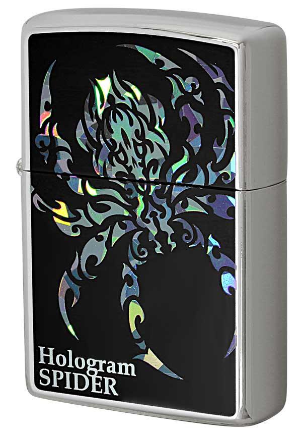 Zippo ジッポー Hologram ホログラム スパイダー メール便可