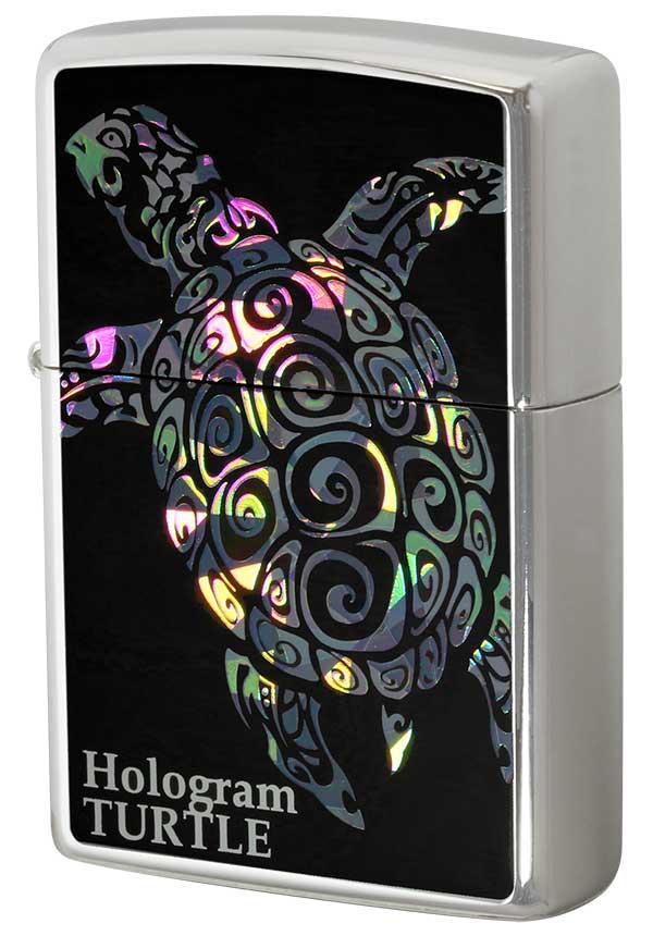 Zippo ジッポー Hologram ホログラム タートル メール便可