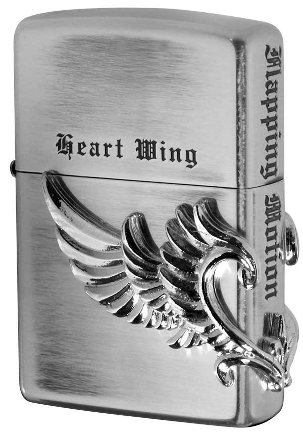 Zippo ジッポー Heart Wing ハートウイング SV 2-17c メール便可