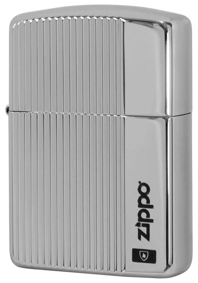 Zippo ジッポー アーマー バーチカルカット チタンコーティング TI 2-57b