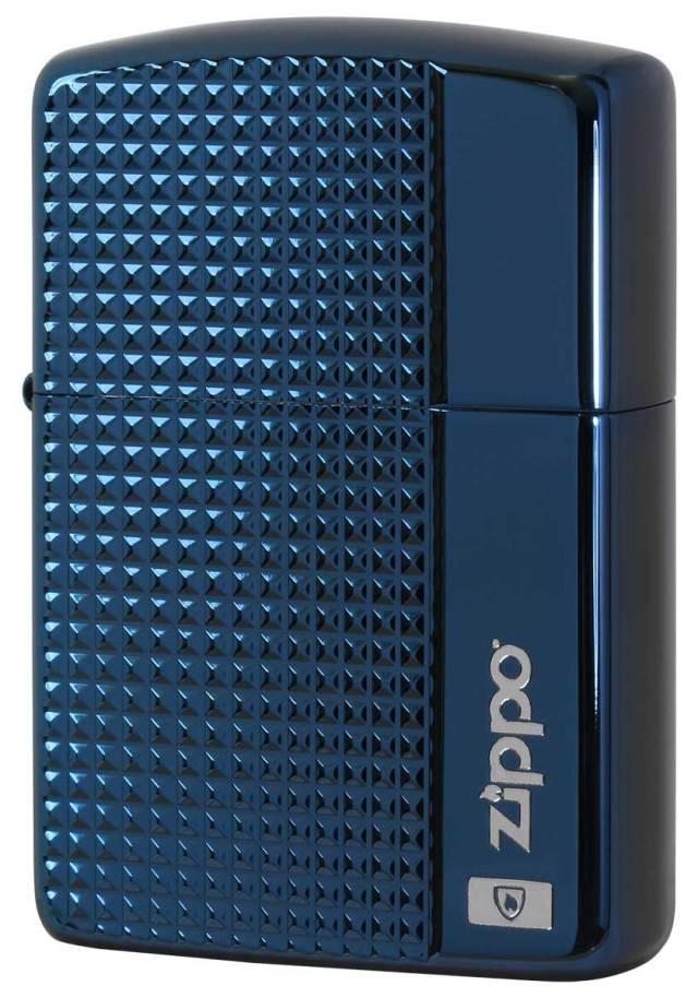Zippo ジッポー アーマー グリットカット チタンコーティング BU 2-56a メール便可
