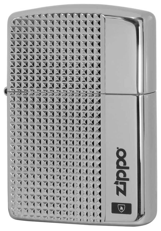 Zippo ジッポー アーマー グリットカット チタンコーティング TI 2-56b