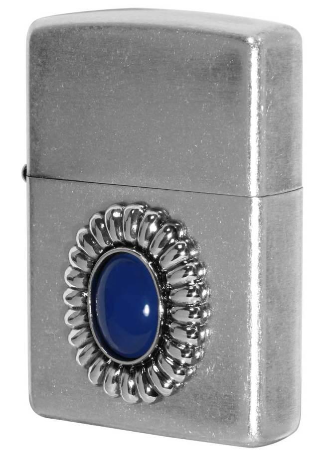 Zippo ジッポー Power Stone パワーストーン ブルーアゲード 70641 メール便可