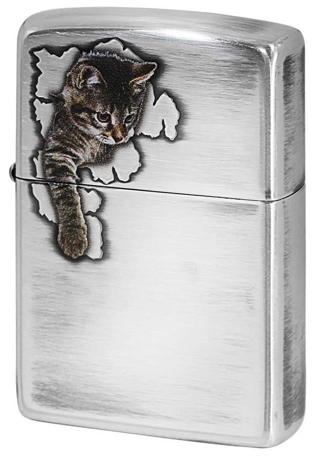 Zippo ジッポー Cat Pau キャットポー 2 70668 メール便可