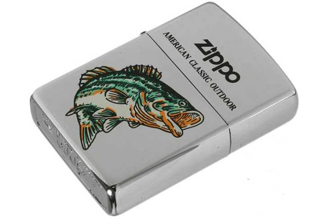 Zippo ジッポー 絶版・1997年製造 AMERICAN CLASSIC OUTDOOR A High Polish Chrome メール便可