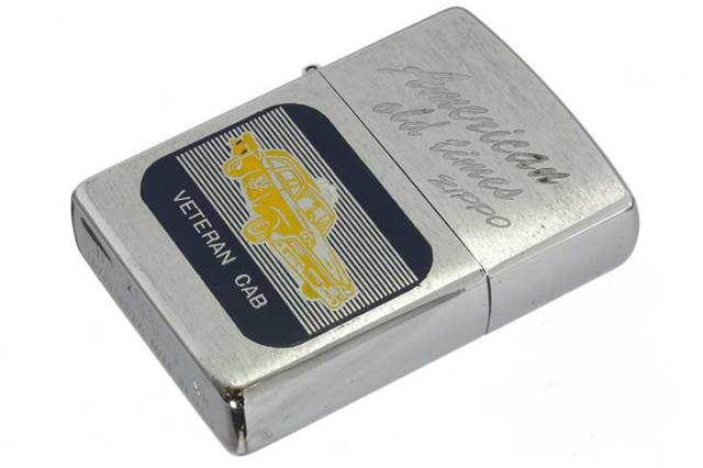 Zippo ジッポー 絶版・1996年製造 American old times VETERAN CAB メール便可