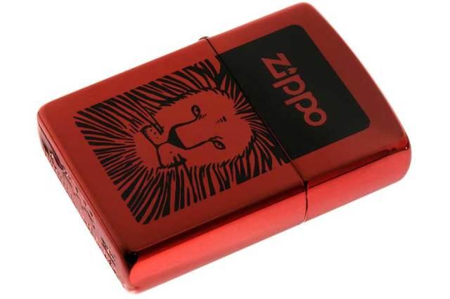 Zippo ジッポー 絶版・1998年製造 ライオン Lion 2-5846