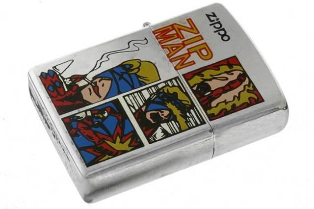 Zippo ジッポー 絶版・1997年製造 ZIP MAN アメリカンコミックス A