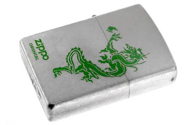 Zippo ジッポー 絶版・1999年製造 ORIENTAL Dragon バレル