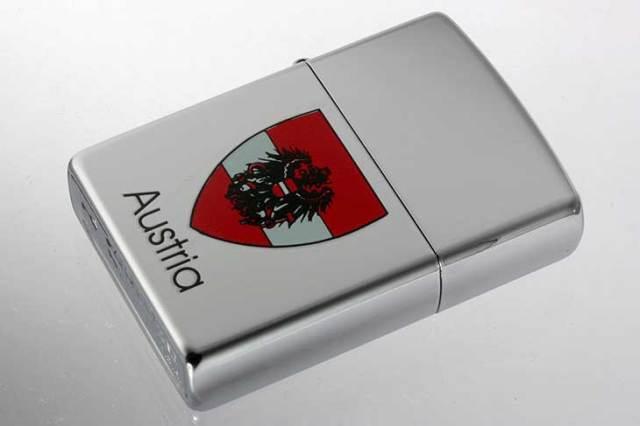 Zippo ジッポー 絶版・2000年製造 Austria オーストリア 国章