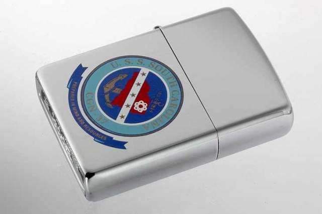 Zippo ジッポー 絶版・1995年製造 U.S.S. SOUTH CAROLINA サウスカロライナ CGN-37 メール便可