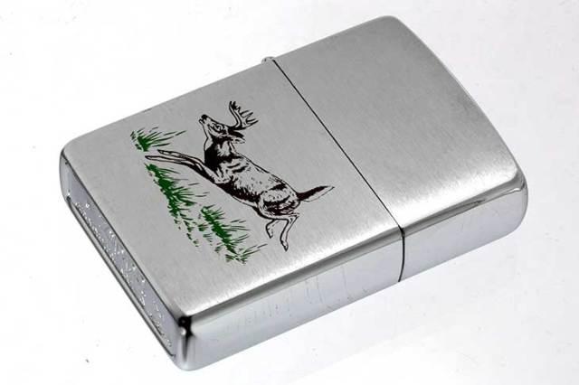 Zippo ジッポー 絶版・1995年製造 動物 牡鹿 DEER