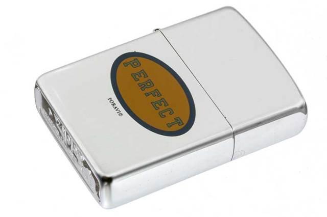 Zippo ジッポー 絶版・1994年製造 PERFECT FORAVI