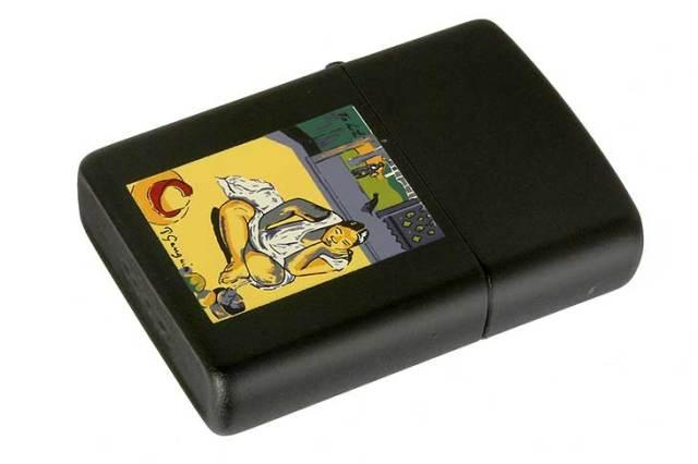 Zippo ジッポー 絶版・1994年製造 ポール・ゴーギャン 絵画