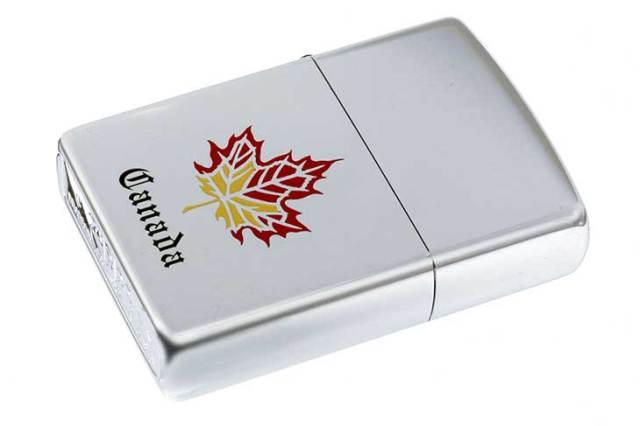 Zippo ジッポー 絶版・1998年製造 Canada カナダ メイプルリーフ