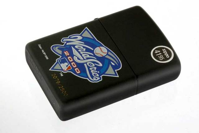 Zippo ジッポー 絶版・2000年製造 MLBP 2000 year World Series No.2079