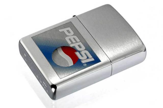 Zippo ジッポー 絶版・2003年製造 PEPSI 企業物 ペプシコ