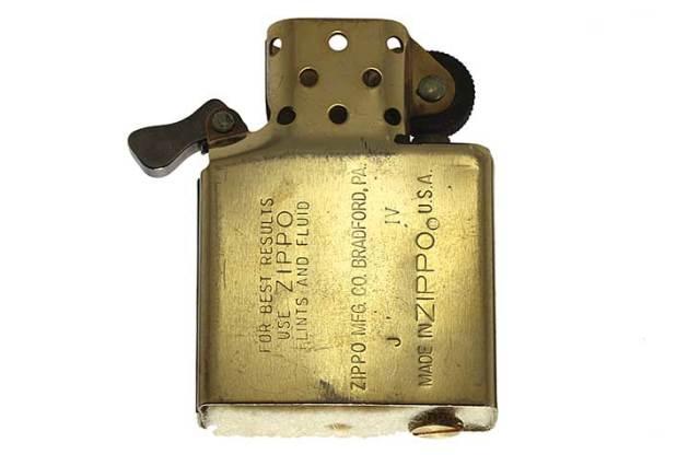 Zippo ジッポー 絶版・1988年製造 インサイドユニット ゴールド